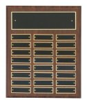 Cherry Finish Perpetual Plaques Achievement Awards