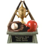 Vintage Trophy Award Baseball Baseball Trophy Awards