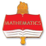 Mathematics Lapel Pin Chenille Lapel Pins