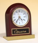 Rosewood Piano Finish Clock Executive Gift Awards