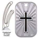 Cross Dog Tag Religious Awards