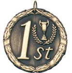 1st Place Gold XR Series Medal Awards
